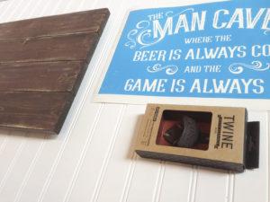 Man Cave DIY Wood Sign
