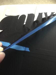 DIY Menu Board Sign