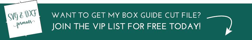 Free Box Guide for Centering Vinyl Stencils
