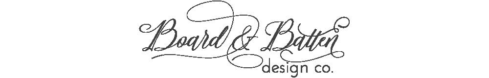 Board & Batten Design Co.